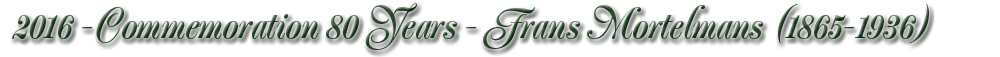 Commemorative Year 2016